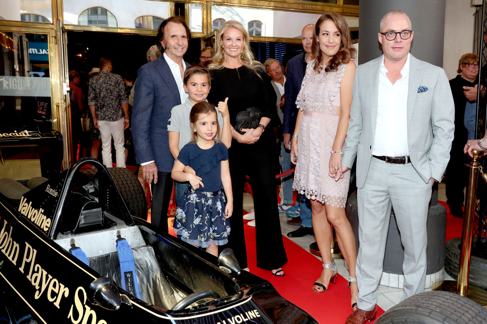 Emerson Fittipaldi Petre Event